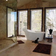 Modern Bathroom by Battles & Battles Tile
