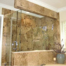 Traditional Bathroom by Rossi Construction