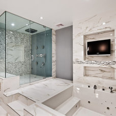 Modern Bathroom by TopNotch Kitchen and Bath Remodeling