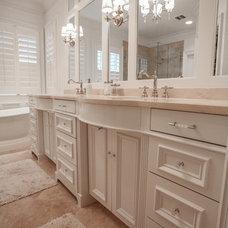 Traditional Bathroom by Cabinets Of Atlanta Inc.