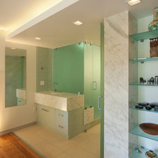 Contemporary Bathroom by Yoder Homes