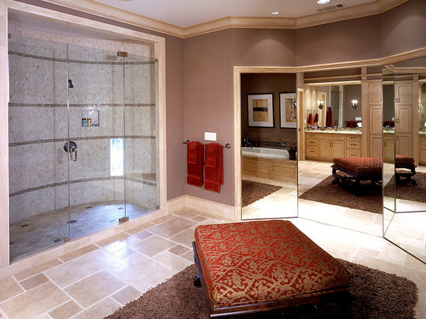 Traditional Bathroom by George Lewis Custom Homes