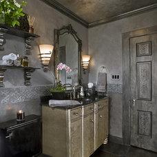 Traditional Bathroom by Grace Designs Dallas