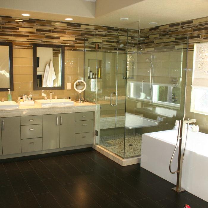 Contemporary San Diego Bathroom