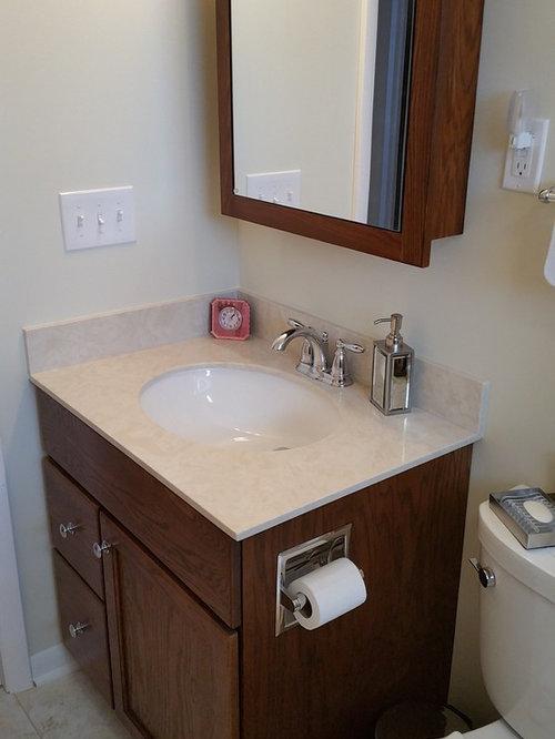 bathroom design ideas remodels photos with linoleum floors and