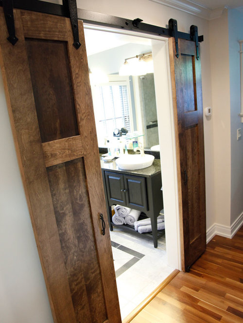 Split Barn Door Home Design Ideas, Pictures, Remodel and Decor