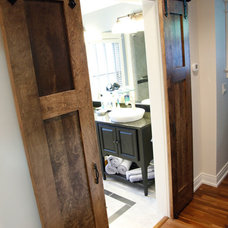 Craftsman Bathroom by Patrick A. Finn, Ltd