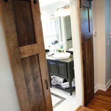 Craftsman Bathroom by Patrick A. Finn, Ltd