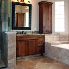 Traditional Bathroom by Premier Kitchen & Bath