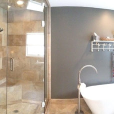 Contemporary Bathroom by Rashid Construction Company