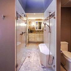 Traditional Bathroom by Schloegel Design Remodel