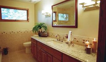 Bathroom renovation, after photo