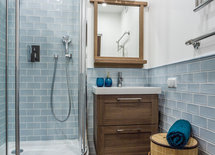 Shower looks prefabricated.  Where is it from?