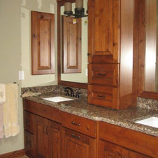 Traditional Bathroom by Cabinet-S-Top