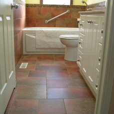 Mediterranean Bathroom by Caledon Tile Bath & Kitchen Centre
