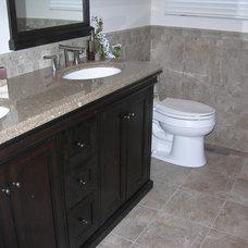 Traditional Bathroom by Caledon Tile Bath & Kitchen Centre