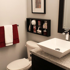 Modern Bathroom by Goldcon Construction