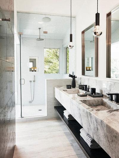 Contemporary Bathroom by HT Design