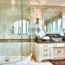 Mediterranean Bathroom by www.hughesdesines.com