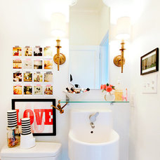 Eclectic Bathroom by AB Chao Interiors
