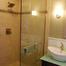 Contemporary Bathroom Bathroom Renovation in CT