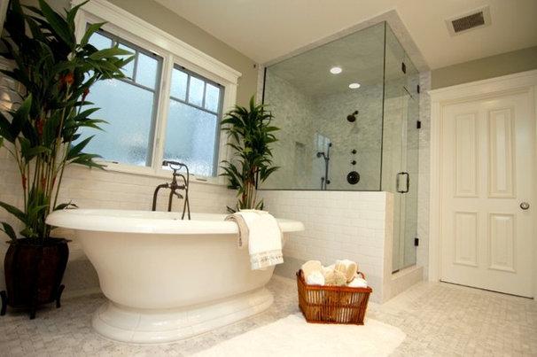 Traditional Bathroom by Olmani Renovations