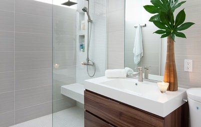 Lovely Room of the Day Room of the Day A Bathroom That us Simply Efficient