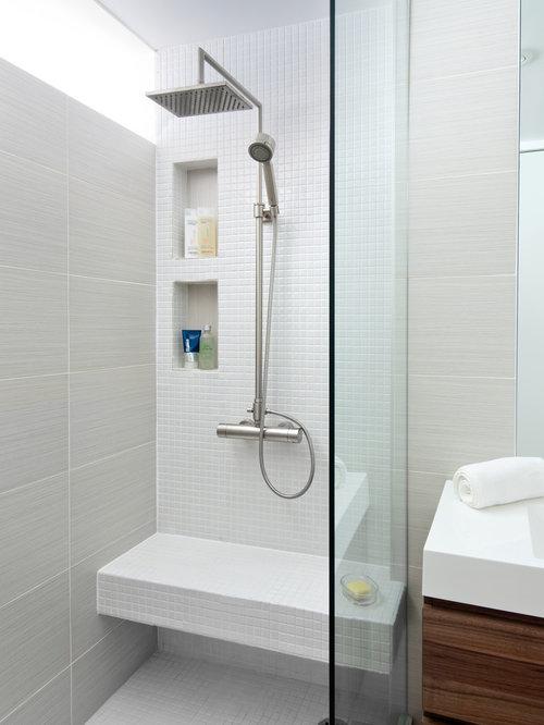 Bathroom design ideas renovations photos with an open for 2 piece bathroom ideas