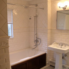 Traditional Bathroom by Portico Tile & Fixtures, Inc.