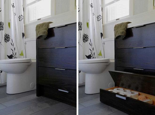 Contemporary Bathroom by ROAM Architecture