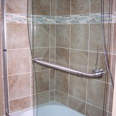 Contemporary Bathroom by Cabinet-S-Top