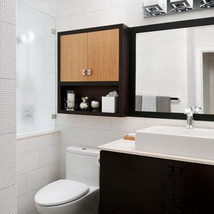 Mid-sized minimalist bathroom photo in San Francisco