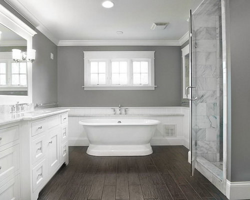 glass tile bathroom designs. example of a large trendy master glass tile bamboo floor bathroom design in atlanta with an designs o
