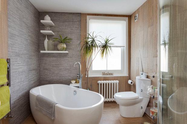 Contemporary Bathroom by Kate Harris Interior Design
