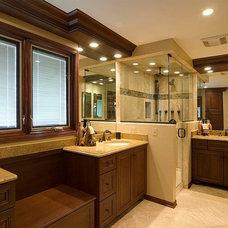 Modern Bathroom by upscale-renovations