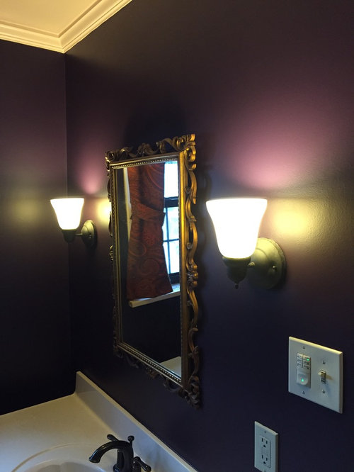 Bathroom Repair Skim Coat Repaint Light Remodel