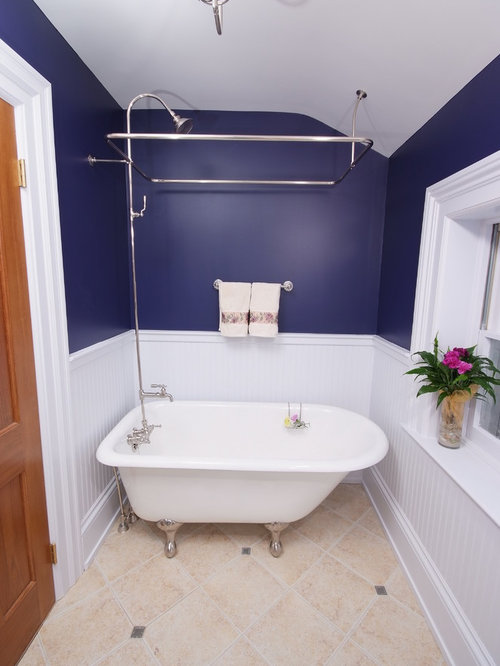 inspiration for a timeless clawfoot bathtub remodel in cleveland