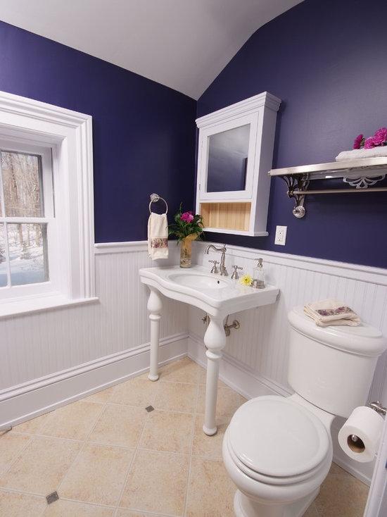Wainscot In Bathroom Houzz