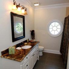 Traditional Bathroom by RMB Building & Design