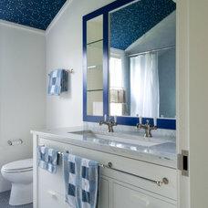 Beach Style Bathroom by S+H Construction