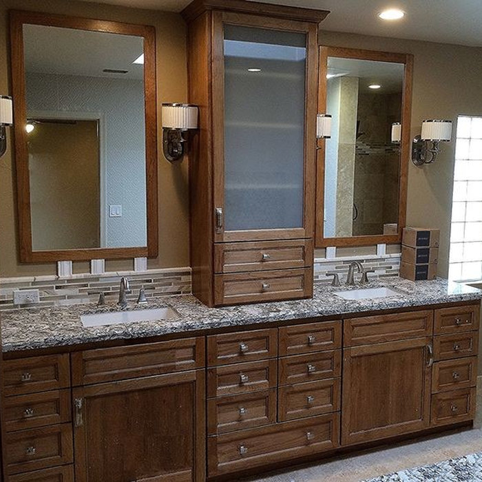 Master Bathroom Custom Cabinetry