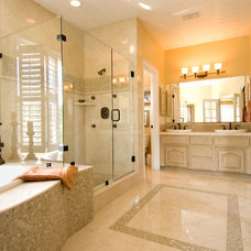 Modern Bathroom by Unique Remodeling and Design by Brush Strokes Inc.