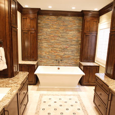 Traditional Bathroom by L&M Interior Design