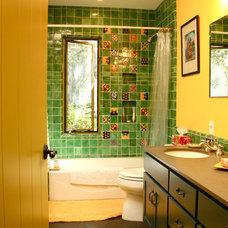 Southwestern Bathroom by Shannon Malone