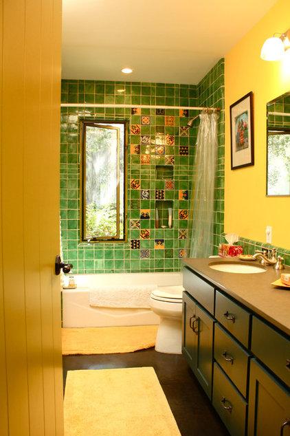 Mediterranean Bathroom by Shannon Malone