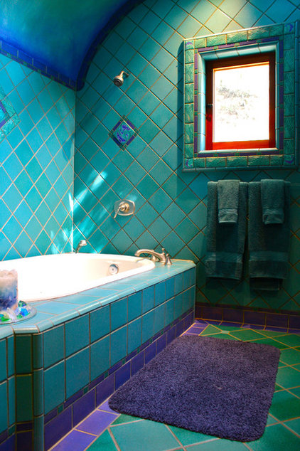 Eclectic Bathroom by Shannon Malone