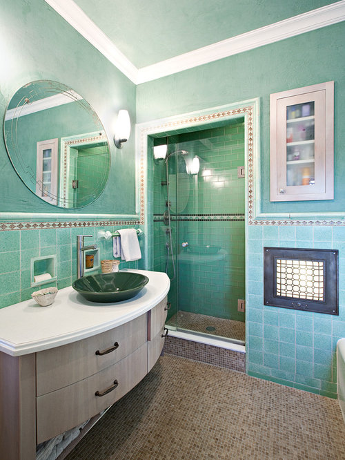 Turquoise Bathrooms Timeless And Captivating Interior: Turquoise Bathroom