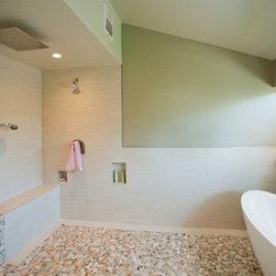 Bathroom Shower Combinaison - Nexxus bathroom bath shower remodeling in a tropical style