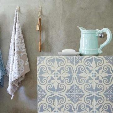 Bathroom Shower Handmade Moroccan Tile