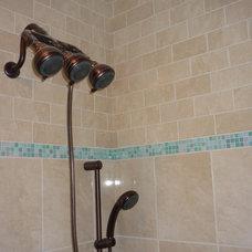 Tropical Bathroom Bathroom Shower